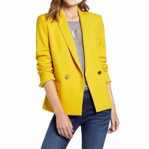 J. Crew Women's Yellow Dover Blazer—6
